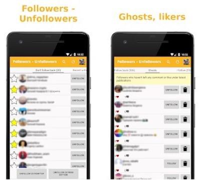 Unfollow Instagram Applications Unfollowers Followers D758b