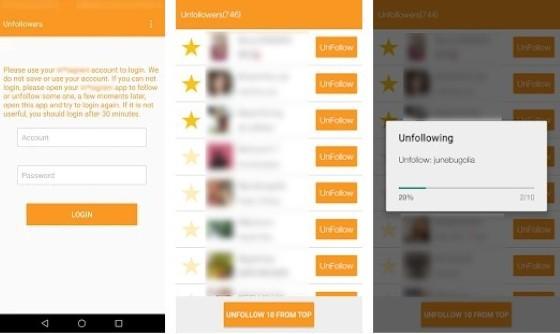 Unfollow Instagram Unfollow Users application 71fd9