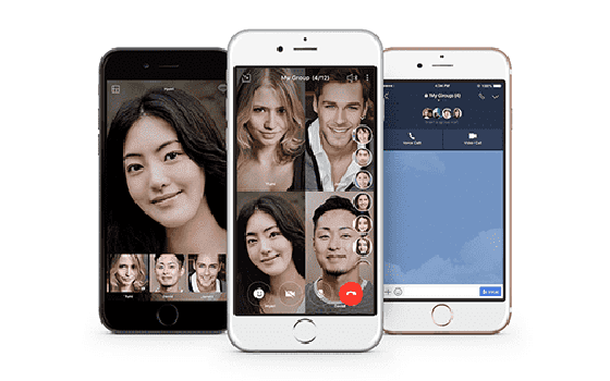 F08ad Video Call Line application
