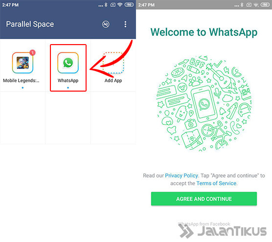 How to Create Two Whatsapp 04 Cf186 Accounts