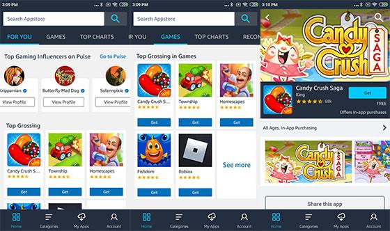 Download the Amazon F24e2 Game Application