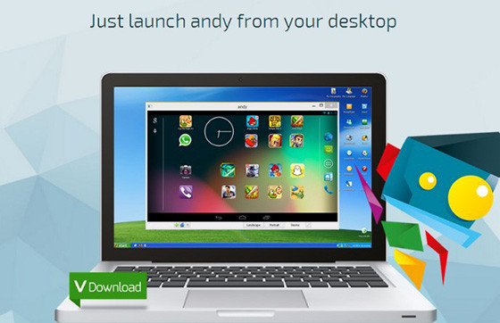 Free Android emulator Andy Fcb26