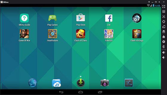 Android Emulator For Pc Lightweight Memu 0486b
