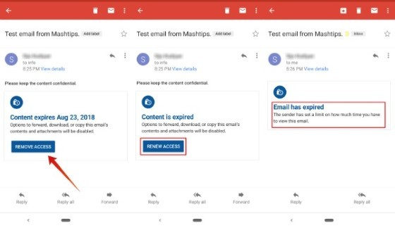 Gmail Secret Features 2512c Custom Email Expiry Time