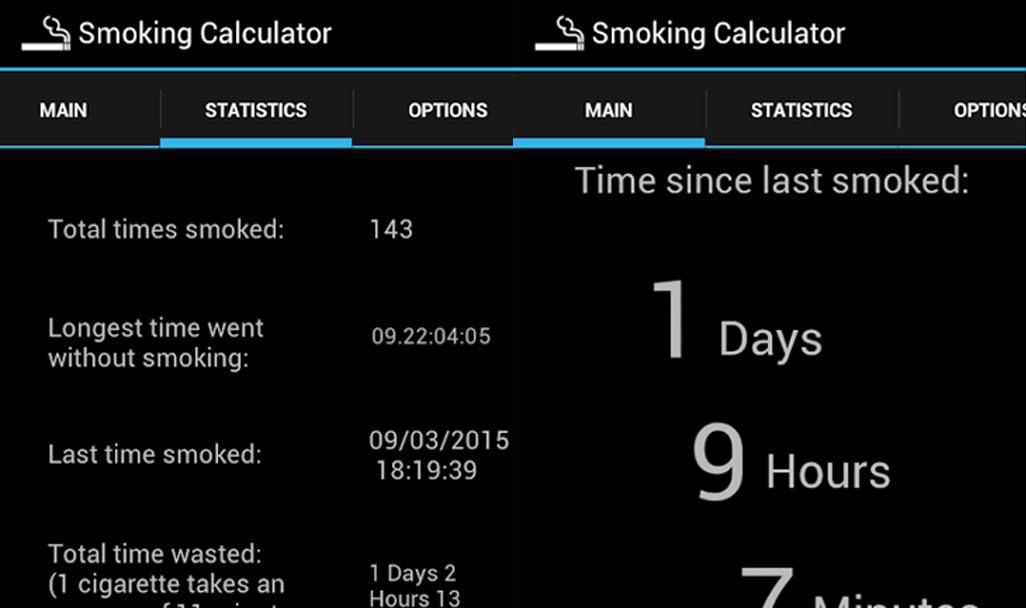 Smoking Calculator Adult Application Not Available in Play Store 1904b