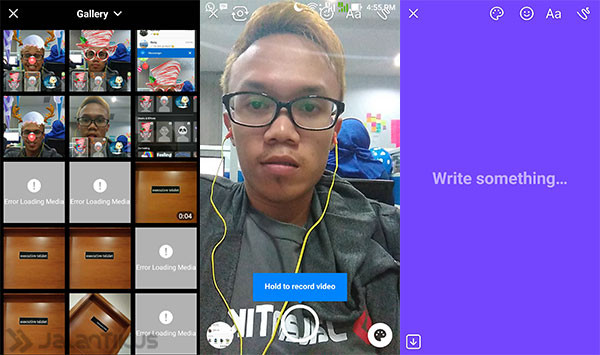Snapchat on Facebook Messenger 2