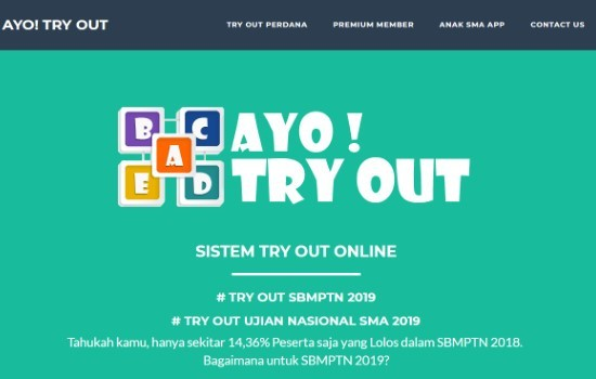 Tryout Online Come on Tryout 8bbd6