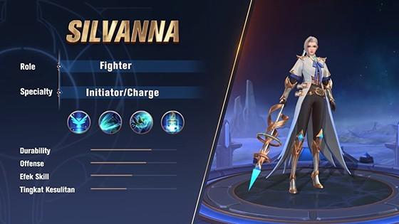 Price of Silvanna Mobile Legends 92729
