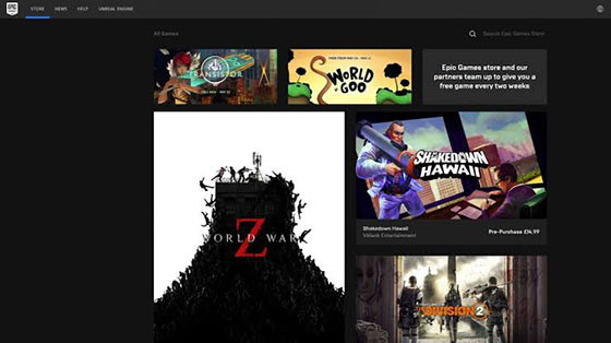 Epic Games Store 3200b