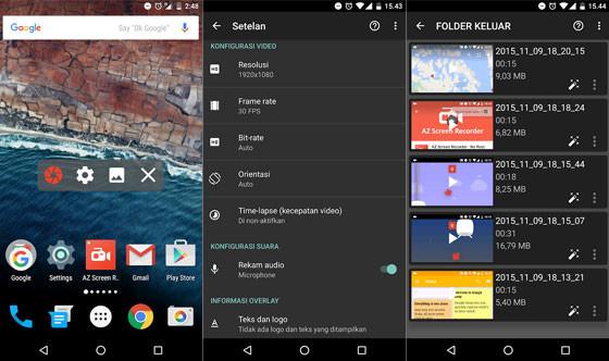 Az Screen Recorder Screen Recorder Application