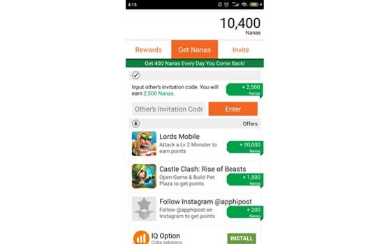 The Fastest Google Play Balance Generating Application 3ad2c